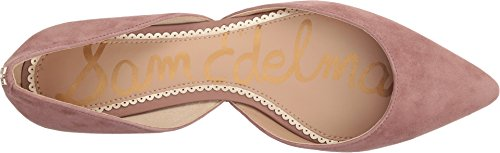 Leather Edelman Ballet Suede Rodney Kid Dusty Flat Rose Women's Sam zdnqwOx66