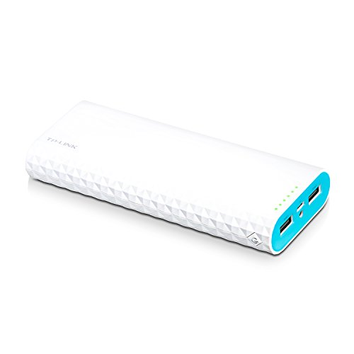 TP-Link 15600mAh High Capacity Portable Battery Charger - LG Battery, 3A Fast Charge with Smart Charging, Dual Ports Power Bank For iPhone iPad Samsung Galaxy Kindle Fire GoPro Fitbit & More