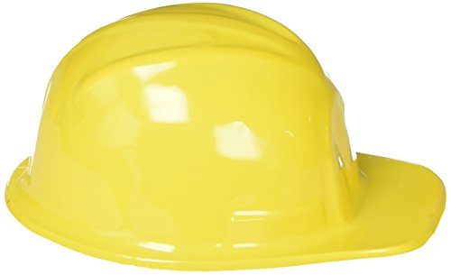Fun Express YELLOW CONSTRUCTION HATS (1 DOZEN) - BULK, Model: -