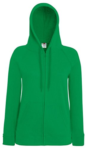 Fruit of the Loom - Sudadera - para mujer verde Kelly Green L