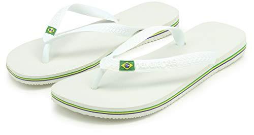 Blanco Us Flop Flip Havaianas Brasil Sandalias 6 De D blanco 5 m Hombre wTZ4q