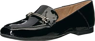 Naturalizer Women's Kari Loafer Flat, Black Patent, 5 M US