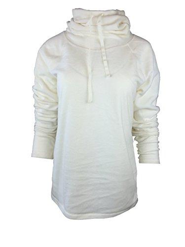 UPC 689439726479, Ideology Womens Funnel-Neck Fleece Pullover, Vanilla Cream (M)