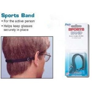 eyeglass sport strap  Amazon.com: Flents Sports Band - Elastic Eyeglass Holder for ...