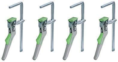 Festool 491594 Quick Clamp For MFT And Guide Rail System, 6 5/8'' (168mm) (Pack of 4) by Festool