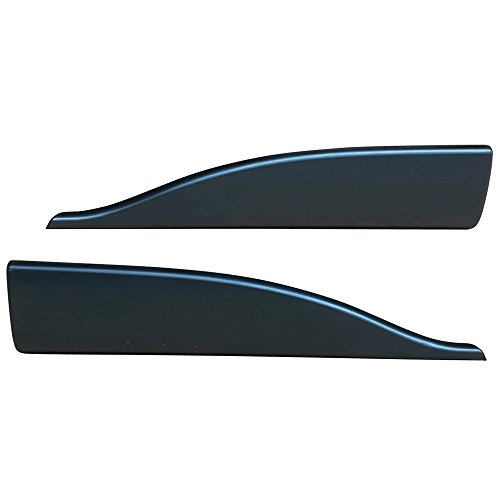 Side Skirts Fits Universal Vehicles | V2 Style Black PP Sideskirt Rocker Moulding Air Dam Chin Diffuser Bumper Lip Splitter by IKON MOTORSPORTS