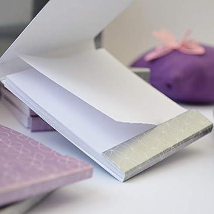 Libreta notas diseño Caja Cerillas (LILA): Amazon.es: Oficina y ...