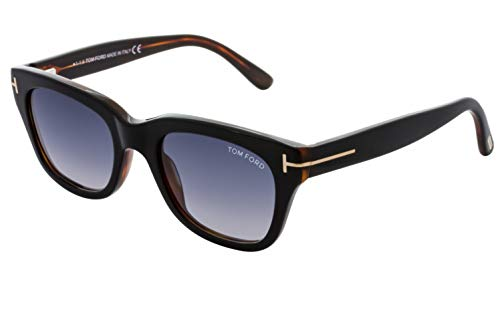 Tom Ford SNOWDON FT0237 05B Black/Other Sunglasses Grey Gradient 52mm ()
