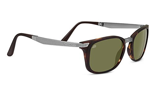 Serengeti 8497 Volare Polarized 555NM Sunglasses, Satin Tortoise Frame by Serengeti