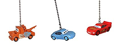 Disney classic CARS movie assorted Character Ceiling FAN PULL light chain