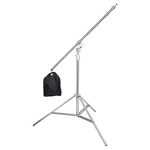 Interfit LS303 Studio Essentials Professional - 13' Combo Boom Stand, Black by Interfit