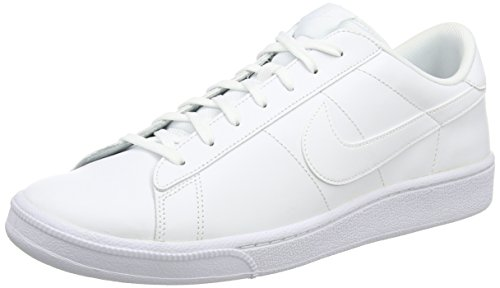 Nike Tennis - Nike Men's Tennis Classic White/White Ankle-High Suede Fashion Sneaker - 10M
