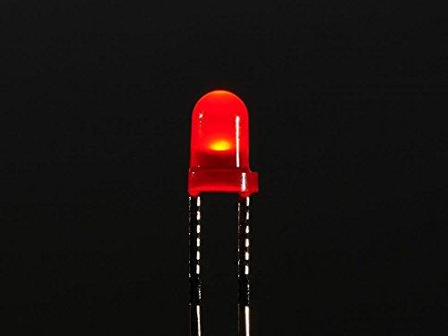 ADA777 Adafruit Diffused Red 3mm LED 25 pack