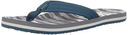 Reef Unisex AHI Sandal Grey Ocean 13-1 Medium US Little Kid