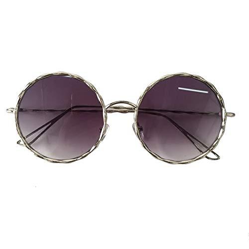 de lunettes de rétro rond soleil américaine La mince lunettes tendance personnalité mode rondes était soleil lunettes tendance visage NIFG européenne Cqw1RxAX