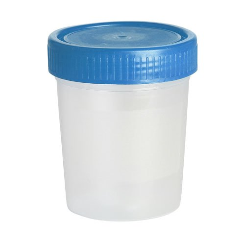Karter Scientific 209J2 Specimen Cup Container, 60ml Vol, PP Material, Non-Grad (Pack of 500)