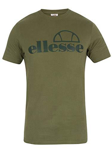 ellesse Men T-Shirt Ermes, Size:S, Color:Olive