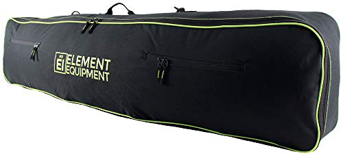 Element Equipment Snowboard Bag 157 with Shoulder Strap and Gear Pockets Black/Lime