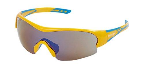 Demon Fuel, lunettes pour Cyclisme unisex-adulto, jaune, 142/50/123mm