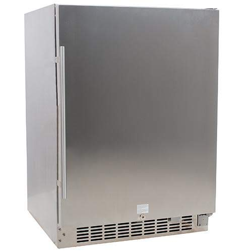 EdgeStar CBR1501SSOD 24 Inch Wide 142 Can Built-in Outdoor Beverage Cooler