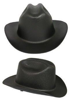 Jackson Safety 3007313 Black Western Wide Brim Outlaw Wester