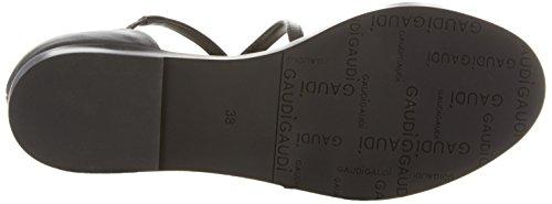 abierta punta para Gun Gaudì de multicolor Sandalias Ve901 Black mujer Cecil Lt 4g5qwxnE7