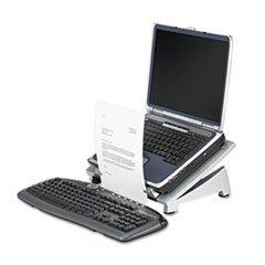 ** Office Suites Laptop Riser Plus, Copyholder, 15 1/8 x 11 3/8 x 6 1/2, Black **