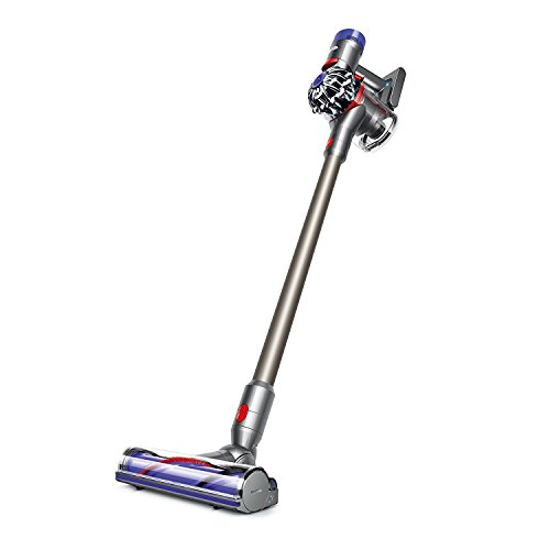 Dyson V8 Animal Cordless HEPA Vacuum Cleaner + Direct Drive Cleaner Head + Wand Set + Mini Motorized Tool + Dusting Brush + Docking Station + Combination Tool + Crevice Tool