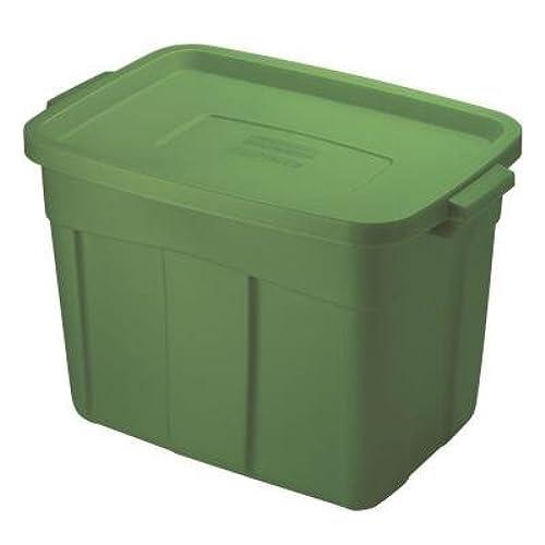 Roughneck Storage Box 18 gal Green  sc 1 st  Amazon.com & 18 Gallon Storage Totes: Amazon.com