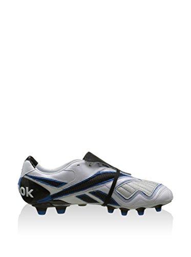 REEBOK Valde Pro Hg, Botas de Fútbol Unisex-Adulto, Blanco / Negro / Azul, 38.5 EU