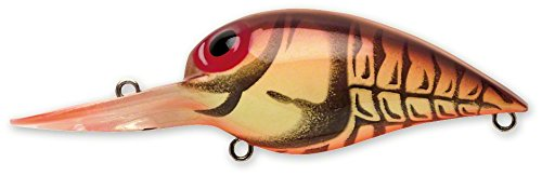 Storm Original Wiggle Wart 05 Fishing lure (Naturistic Brown Crayfish, Size- 2)