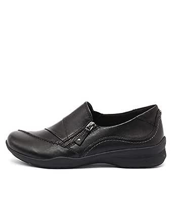 Earth Anise Black Womens Shoes Flats Shoes
