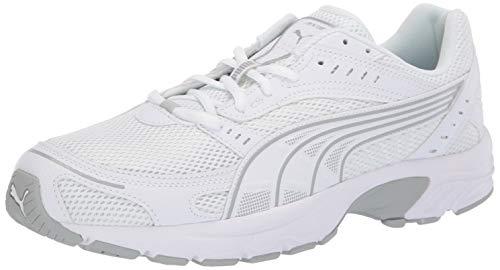 - PUMA Men's AXIS Sneaker White-high Rise, 9.5 M US