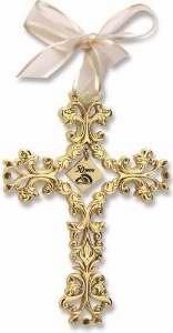 - Cathedral Art 50th Anniversary Cross Ornament - Beautiful & Traditional 50th Anniversary Gift Idea by
