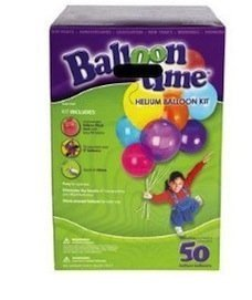 Helium Tank Balloon Time Kit 50 Each Total