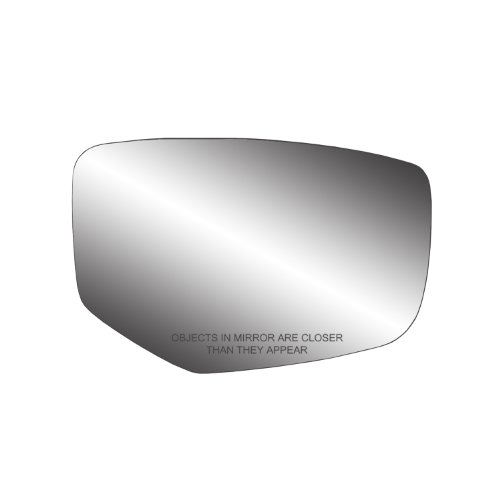 Right Rh Side Mirror - Fit System 80272 Honda Accord Right Side Power Replacement Mirror Glass with Backing Plate