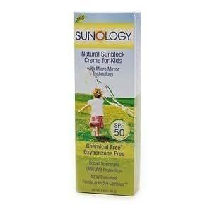 Sunology Sunology Snblk Crm Kids 3 oz