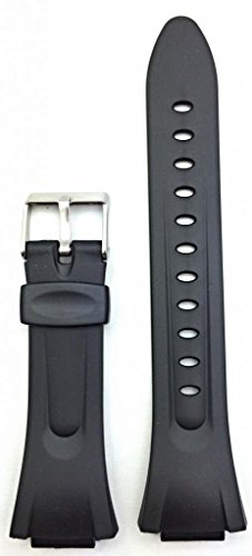 15mm Black Rubber PVC Material Watchband | Comfortable and Durable, G Shock Style Watch Band Replacement Wrist Strap that brings New Life to Any Watch for Men and Women