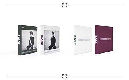 JONGHYUN SHINee - Base (1st Mini Album) [Random cover] CD + Photobook + Photocard + Extra Photocards Set by SM Entertainment
