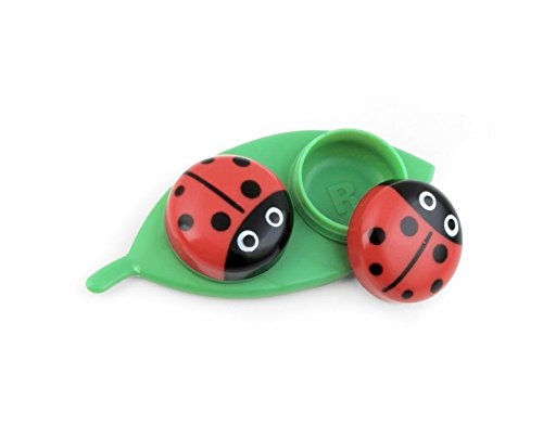 kikkerland contact lens case ladybug - Color Contacts Amazon