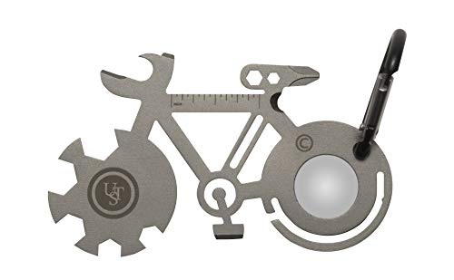 UST Stainless-Steel Tool A Long Multi-Tool Carabiner, Bicycle