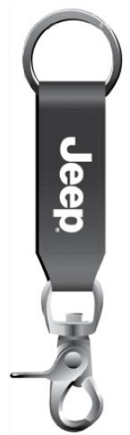 Jeep Vinyl Strap Keychain Clip product image
