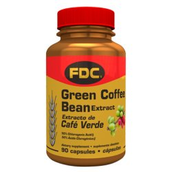 FDC Vitamins Green Coffee Bean Extract - 90 Capsules by FDC Vitamins