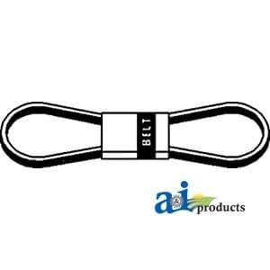 """A & I–Cinturón, cubierta (con 48""""cortacésped). Parte No: a-76505–34710"""