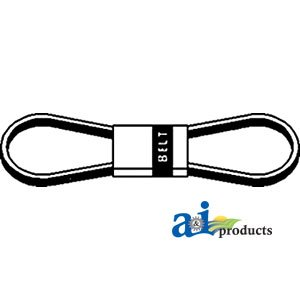 A&I - Belt; Main Drive, 4V (3200 MM). PART NO: A-87580097 by A&I Products