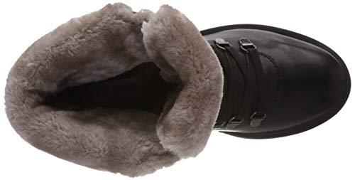 Boot Tree Ankle Steve Bottines Black Leather Black Madden 017 Femme 7twW5Rq