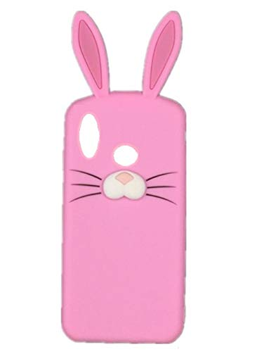 timeless design e09eb 69c1a ITbEST Cute Girlish Soft Silicone Rabbit Ear Back Cover: Amazon.in ...