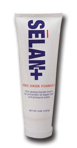 Selan Protective Cream (SPECIAL PACK OF 3-Selan+© Zinc Oxide Barrier Cream 4 oz. Tube)