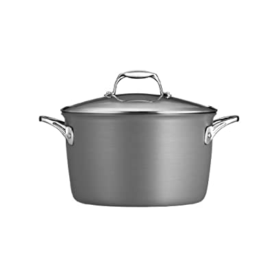 Tramontina Gourmet Hard Anodized 8 qt. Covered Stock Pot