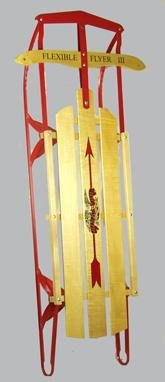 Paricon Flexible Flyer Wood Sled Maple